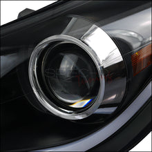 Load image into Gallery viewer, Spec-D Projector Headlights Hyundai Elantra [LED DRL] (2011-2013) Black or Chrome
