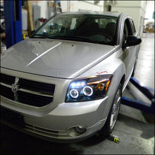 Load image into Gallery viewer, Spec-D Projector Headlights Dodge Caliber [LED DRL] (2007-2012) Black / Chrome / Smoked