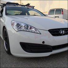 Load image into Gallery viewer, Spec-D Projector Headlights Hyundai Genesis Coupe [LED] (2010-2012) Black / Smoke / Chrome