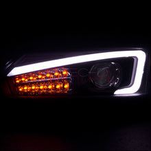 Load image into Gallery viewer, Spec-D Projector Headlights Scion tC (2011-2012-2013) w/ LED Bar - Black / Tinted / Chrome