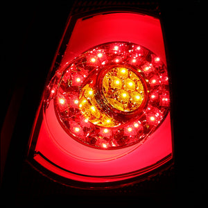 Spec-D Tail Lights Mini Cooper [LED] (2011-2014) Red or Smoked