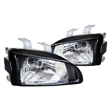 Spec-D OEM Replacement Headlights Honda Civic EG [Euro] (92-95) Black or Chrome