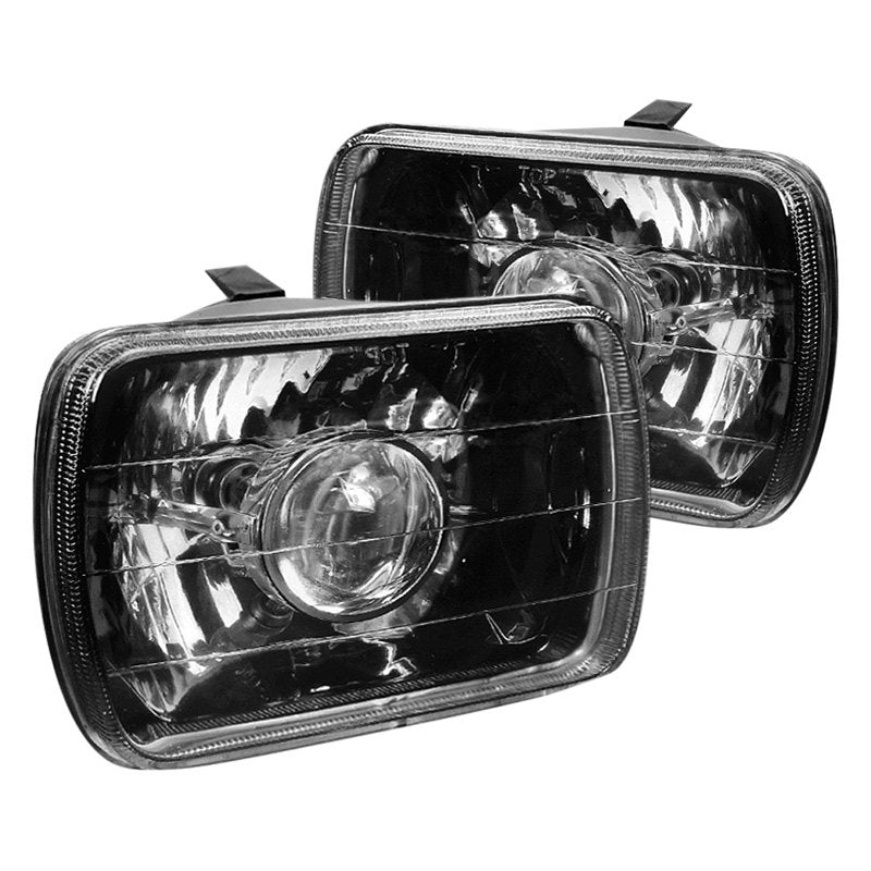 Spec-D Projector Headlights Chevy Monte Carlo (1978-1979) Chrome or Black Housing