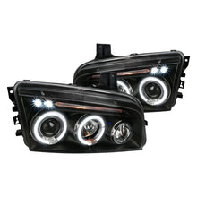 Load image into Gallery viewer, Spec-D Projector Headlights Dodge Charger [Dual Halo] (05-10) Black or Chrome Housing