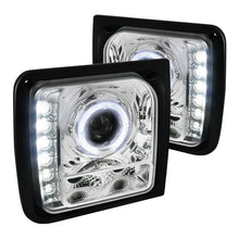 Load image into Gallery viewer, Spec-D Projector Headlights Jeep Cherokee [Halo LED] (1997-2001) Black or Chrome