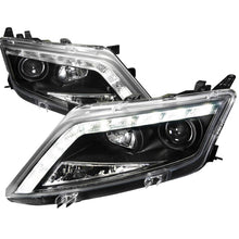 Load image into Gallery viewer, Spec-D Projector Headlights Ford Fusion w/ LED DRL (2010-2011-2012) Black, Tinted or Chrome