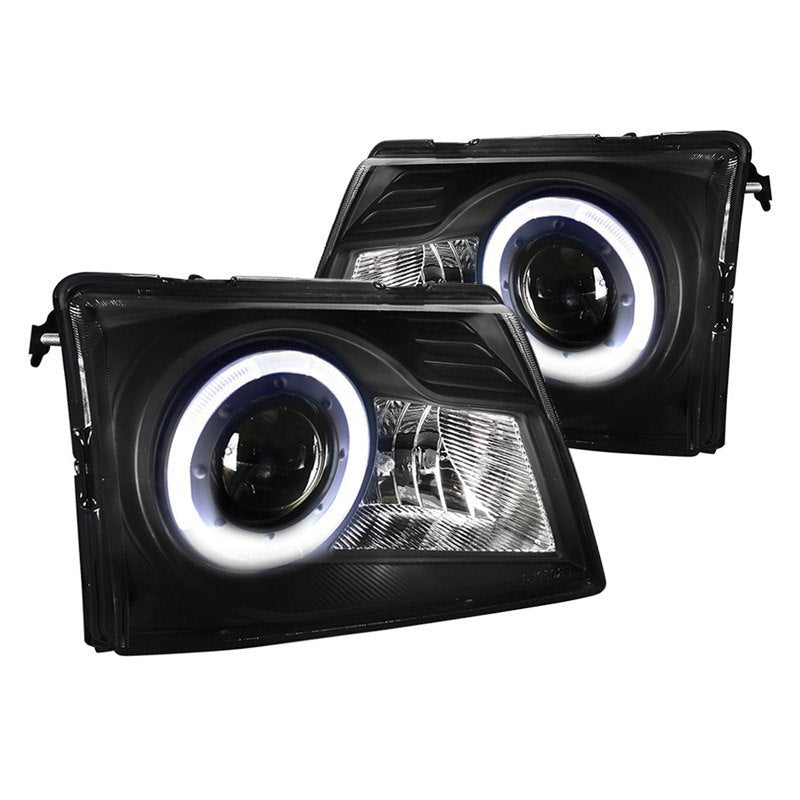 Spec-D Projector Headlights Ford Ranger (1998-2000) Black or Chrome