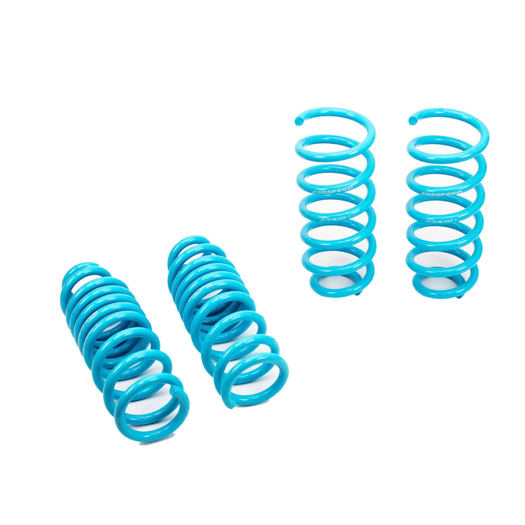 GodSpeed Traction S Lowering Springs Mercedes C300 AWD (15-17) LS-TS-BZ-0007