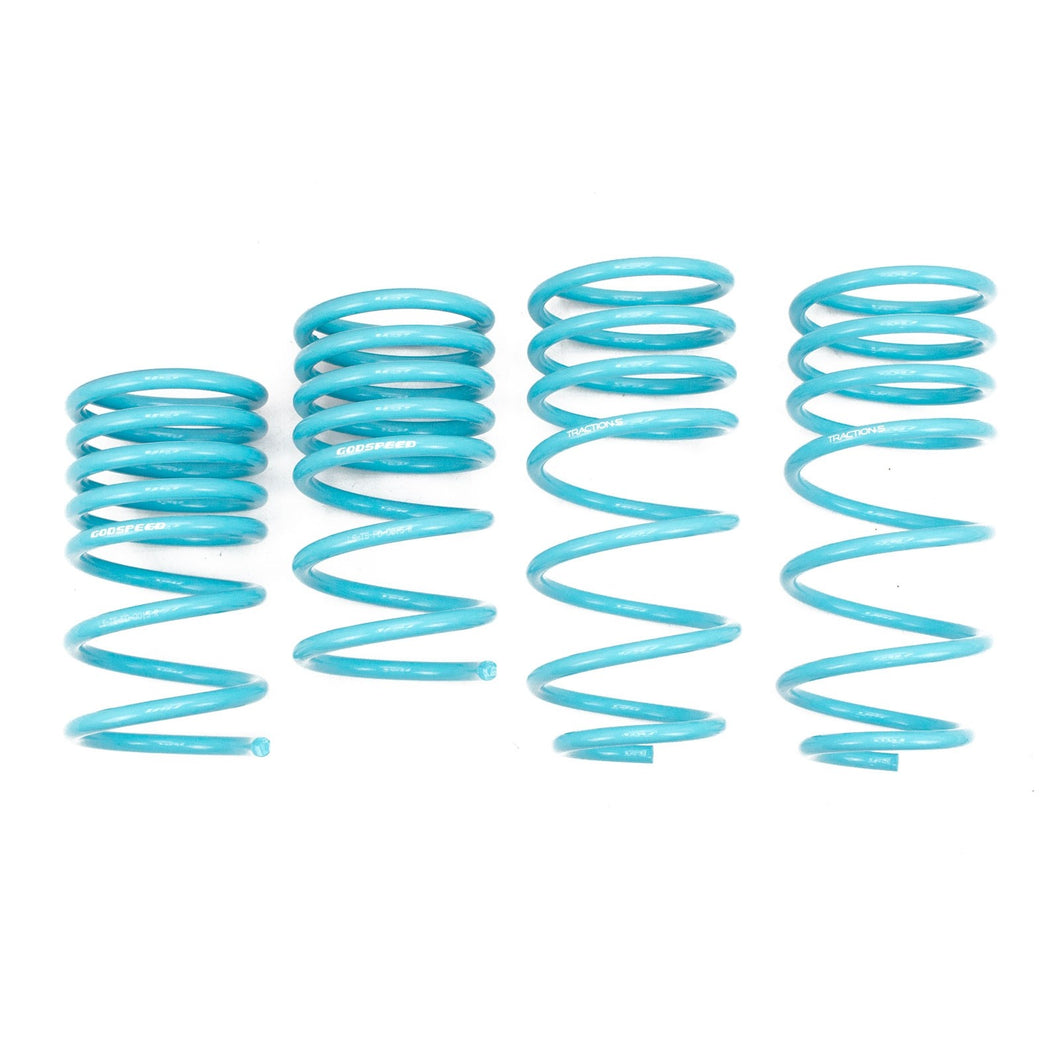 GodSpeed Traction S Lowering Springs Ford Escape (01-12) LS-TS-FD-0015