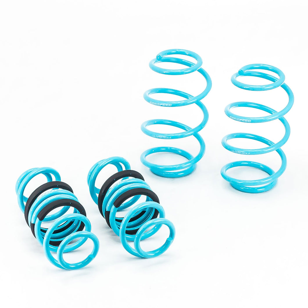 GodSpeed Traction S Lowering Springs Honda Fit (2006-2008) LS-TS-HA-0014