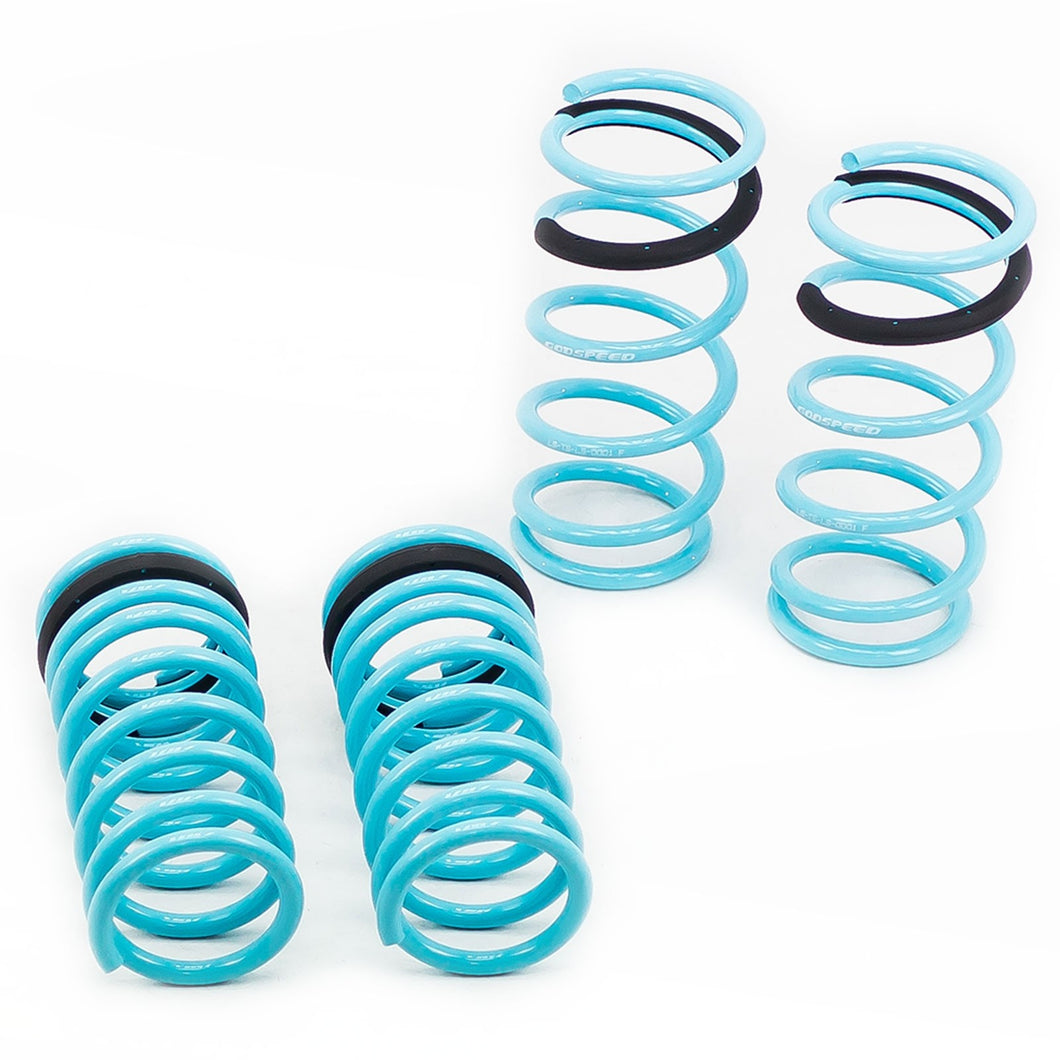 GodSpeed Traction S Lowering Springs Lexus GS300/GS350/GS460 (06-11) LS-TS-LS-0001