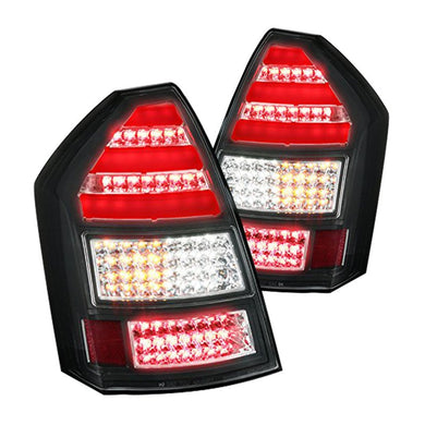 Spec-D LED Tail Lights Chrysler 300C (2005-2007) Black / Clear / Red / Smoked