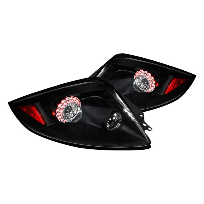 Spec-D Tail Lights Mitsubishi Eclipse [LED] (2006-2011) Black or Chrome