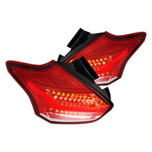 Load image into Gallery viewer, Spec-D LED Tail Lights Ford Focus SE/ST/RS (15-19) Black, Smoke, Red or Clear