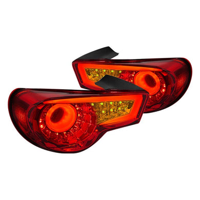 Spec-D Tail Lights FRS/BRZ/86 [LED] (2013-2018) Chrome or Red