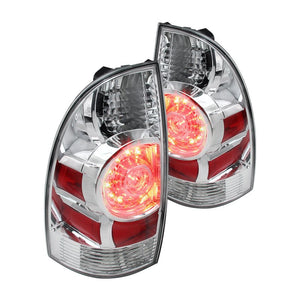 Spec-D Tail Lights Toyota Tacoma [LED] (2005-2015) Red, Clear or Black