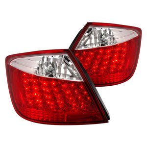 Spec-D Tail Lights Scion tC [LED] (2005-2010) Red / Clear