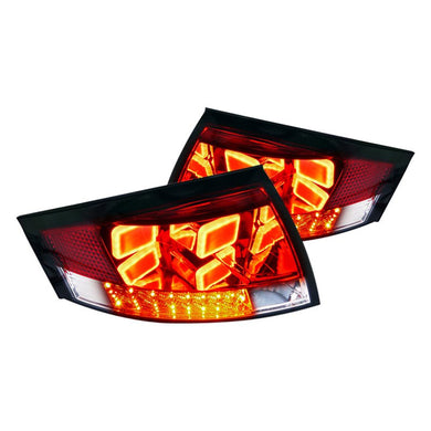 Spec-D LED Tail Lights Audi TT (1999-2006) Black or Red