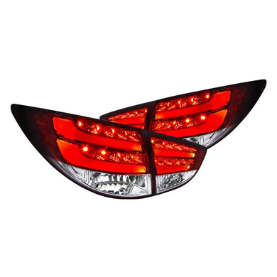 Spec-D Tail Lights Hyundai Tucson [Red LED] (2010-2012) LT-TUC10RLED-TM