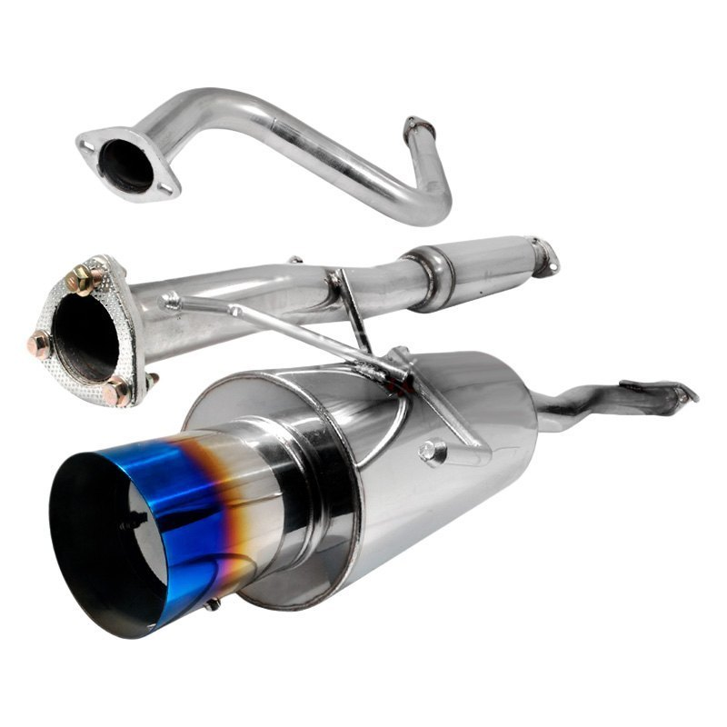 Spec-D Tuning Exhaust Acura Integra GSR (94-01) Blue Or