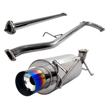 Load image into Gallery viewer, Spec-D Tuning Exhaust Honda Accord [N1 Burnt Tips] (98-02) MFCAT2-ACD982T-SD