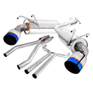 Spec-D Tuning Exhaust Chevy Camaro V6 [Burnt Tips] (10-15) MFCAT2-CMR10T-SD