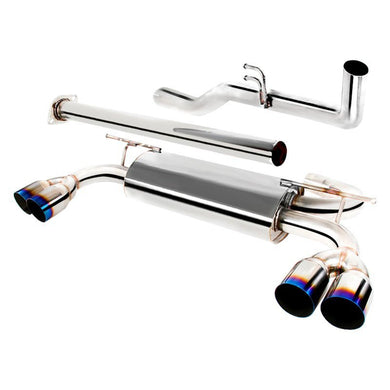 Spec-D Tuning Exhaust Hyundai Genesis 2.0T (09-14) Polished or Burnt Quad Tips