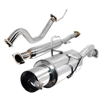 Spec-D Tuning Exhaust Acura Integra LS/GS/RS (94-01) Blue or Polished N1 Muffler Tip