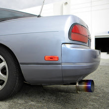 "Load image into Gallery viewer, Spec-D Tuning Exhaust Nissan 240SX S13 [Blue Burnt Titanium Tip] (89-94) 3"" N1 Muffler"