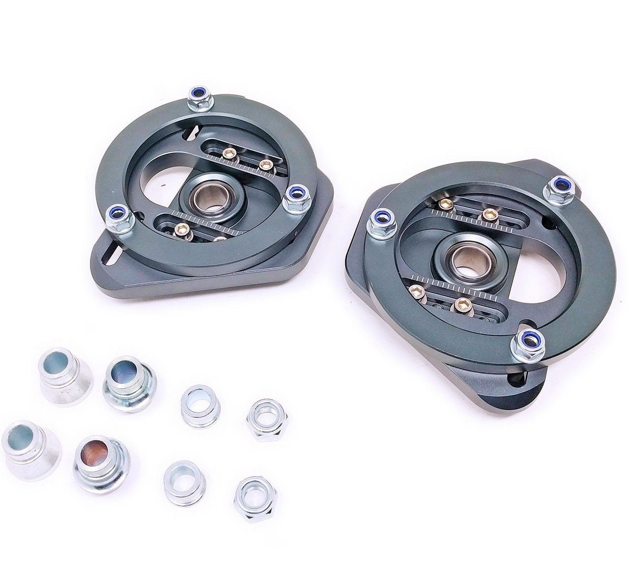 Godspeed Camber / Caster Plates BMW E46 & E46 M3 Front (1999-2006) MSS-THE02