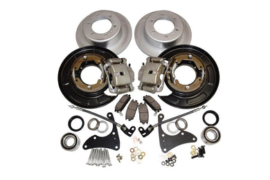Pedders Brake Conversion Kit Toyota Tacoma [with 6 lug rear] (2005-2017) Rear