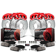 Load image into Gallery viewer, PowerStop Z23 Evolution Sport Brake Rotors + Pads + Caliper Nissan 350Z / 370Z (2009) Front or Rear