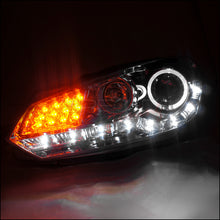 Load image into Gallery viewer, Spec-D Projector Headlights VW Golf MK6 [R8 Style LED] (2009-2012) Black or Chrome
