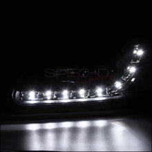 Load image into Gallery viewer, Spec-D Projector Headlights Honda Civic EK [Dual LED Halo] (96-98) Black Housing