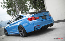 Load image into Gallery viewer, SEIBON Carbon Fiber Rear Spoiler BMW F82 M4 Coupe (2015-2020) C Style