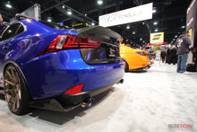 Load image into Gallery viewer, SEIBON Carbon Fiber Rear Diffuser Lexus IS250/IS300/IS350 (14-16) OE/RF/TP Style