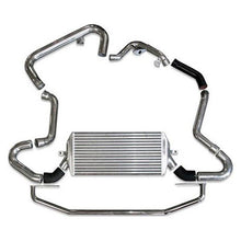 Load image into Gallery viewer, Injen Turbo Intercooler Subaru WRX / STi 2.5L Turbo (2006-2007) Polished / Red