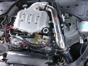 Injen Cold Air Intake Infiniti G35 Coupe V6-3.5L (03-06) CARB/Smog Legal - Polished / Black
