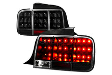 Load image into Gallery viewer, Spec-D Tail Lights Ford Mustang [Sequential LED] (05-09) Black / Chrome / Red
