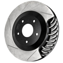 Load image into Gallery viewer, StopTech Front Slotted Brake Rotors Jaguar Vanden / XJ8  (98-03) XJR (98-03) XK8 (97-99) Passenger or Driver Side