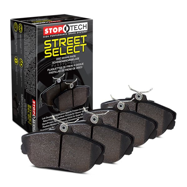 StopTech Street Select Brake Pads Mercedes AMG GT (17-20) [Front w/ Hardware] 305.12910