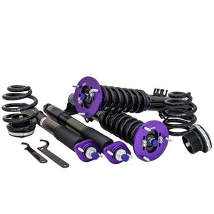 D2 Racing RS Coilovers Mercedes S-Class [Airmatic to Coilover Conv.] (06-13) D-ME-38