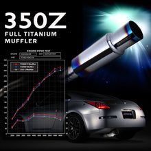 Load image into Gallery viewer, Tomei Expreme TI Titanium Exhaust 350Z (03-08) TB6090-NS04A