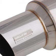 "Load image into Gallery viewer, Skunk2 Universal Muffler (3"" Inlet 4"" Exhaust Tip) 415-99-1480"