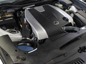 aFe Takeda Stage-2 Cold Air Intake Lexus RC350/ RC300 (15-19) GS350 (13-19) Polished / Black TR-2015