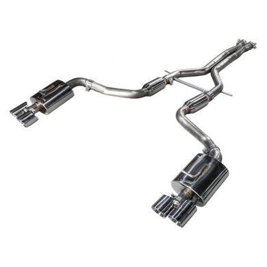 AWE Exhaust Audi S4 Quattro B7 4.2L Sedan/Avant (06-08) Track or Touring Edition