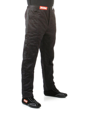 RaceQuip 120 Series Pyrovatex Multi Layer Racing Driver Fire Pants [SFI 3.2A/5] - Black