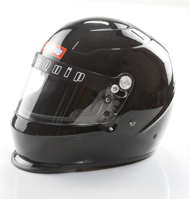 RaceQuip PRO Youth SFI 24.1 Auto Racing Full Face Helmet - Gloss Black/Gloss White / Gloss Steel/Hot Pink/Flat Black