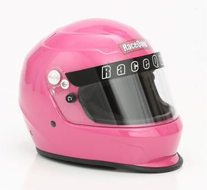 RaceQuip PRO20 Snell SA-2020 Full Face Helmet - Gloss Black/Gloss White / Gloss Steel/Hot Pink/Flat Black