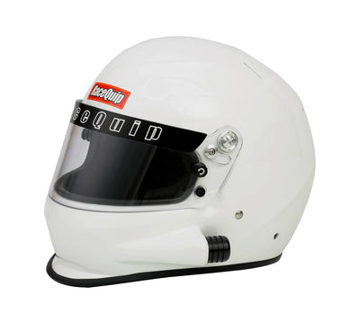 RaceQuip PRO15 Side Air Snell SA-2015 Full Face Helmet - Gloss White or Flat Black